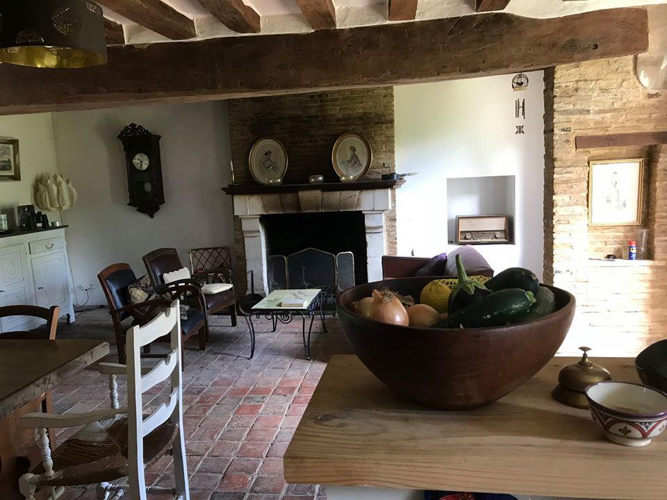 La cuisine du Hameau de Lalande