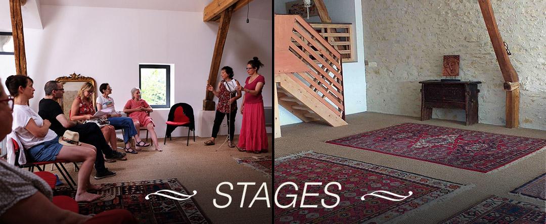 Stages au Hameau de Lalande